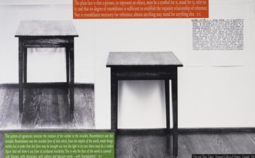 Joseph Kosuth-Essay #12-1999