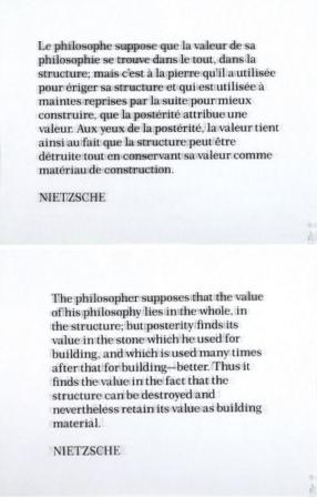 Joseph Kosuth-Ex Libris (N.F.F.L)-1991