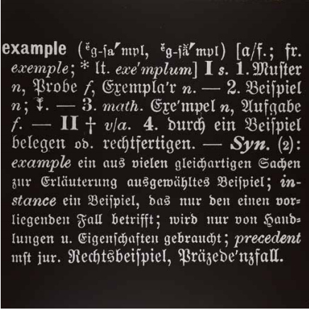 Joseph Kosuth-Example-1967