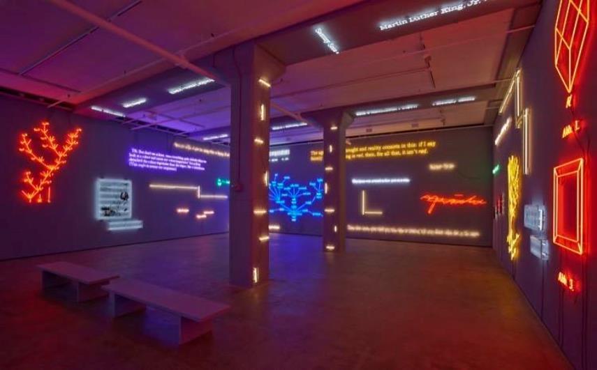 Joesph Kosuth exhibition