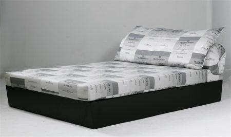 Joseph Kosuth-Modus Operandi (Double Bed)-1989