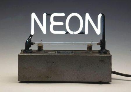 Joseph Kosuth-Neon-1965