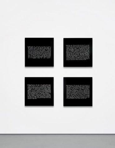 Joseph Kosuth-North; East; South; West; (From Art as Idea as Idea)-1967
