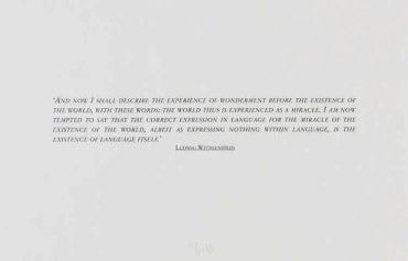 Joseph Kosuth-Ohne Titel-1995