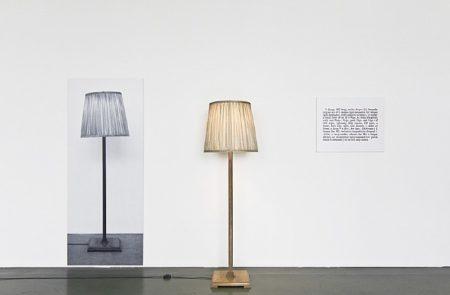 Joseph Kosuth-One and Three Lamps-1965
