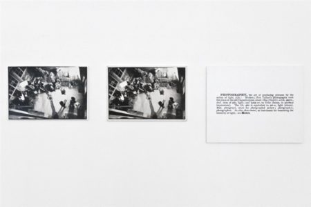 Joseph Kosuth-One and Three Photographs-1965