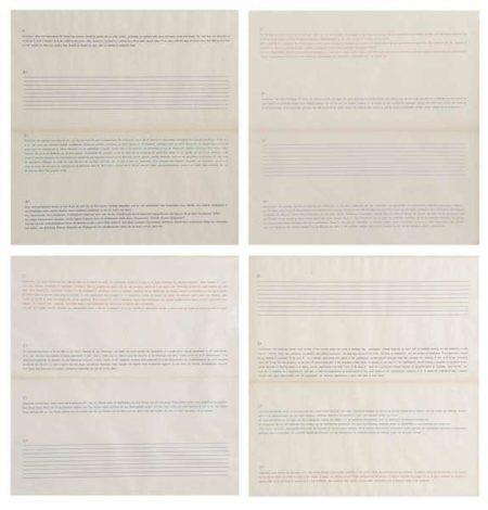 Joseph Kosuth-Praktijk, Practice, Pratique-