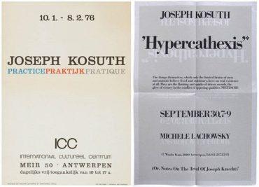 Joseph Kosuth-Sans titre (Practice Praktijk Pratique)