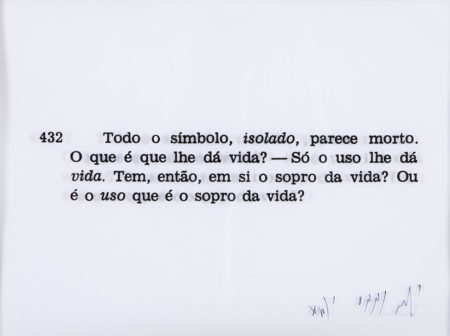 Joseph Kosuth-Sem Titulo-1990