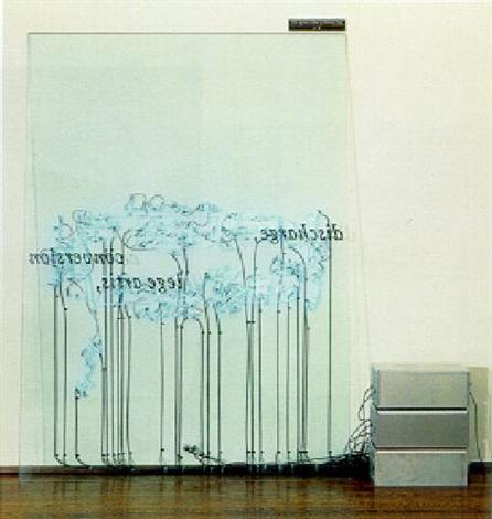 Joseph Kosuth-The Square Root of Minus One-1989