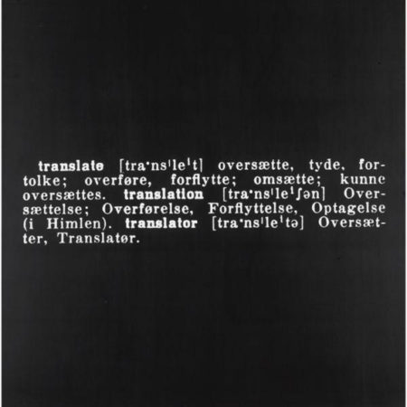 Joseph Kosuth-Titled (Art As Idea As Idea) [Translate]-1968