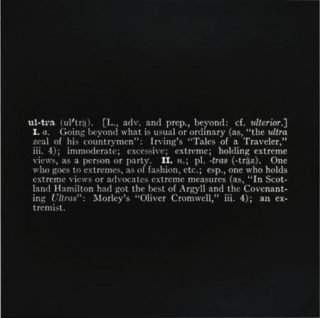 Joseph Kosuth-Titled (Art As Idea As Idea) [Ultra]-1967
