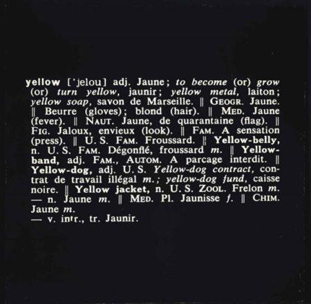 Titled (Art as Idea as Idea)-1967