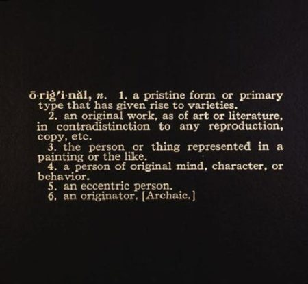 Joseph Kosuth-Titled (Art as Idea as Idea)-1967