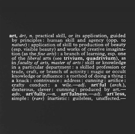 Joseph Kosuth-Titled (Art as Idea as Idea) [Art]-1968