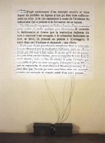 Joseph Kosuth-Word, Sentence, Paragraph-1985