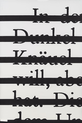 Joseph Kosuth-Zero & Not-1989