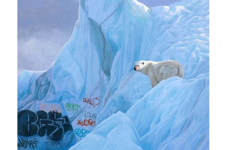 Josh Keyes - Spray