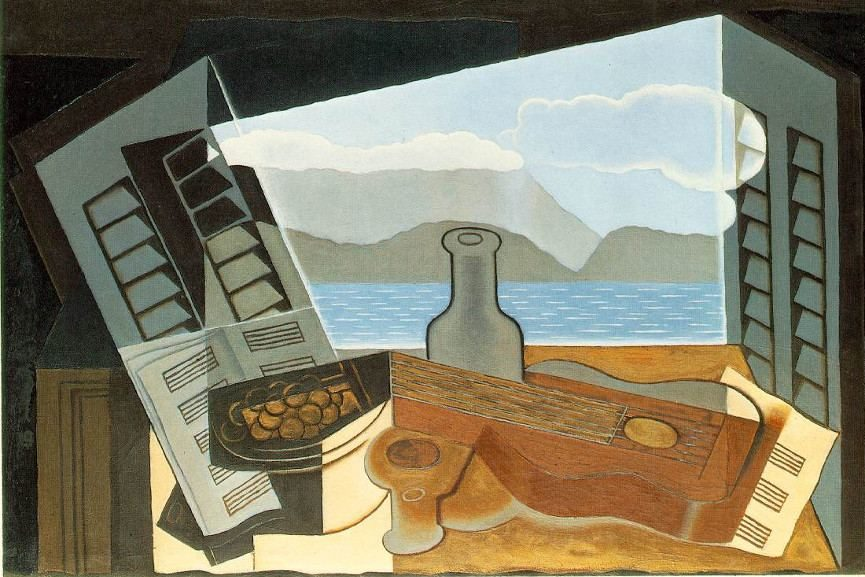 Juan Gris - The Open Window, 1917 - Image via ibiblioorg