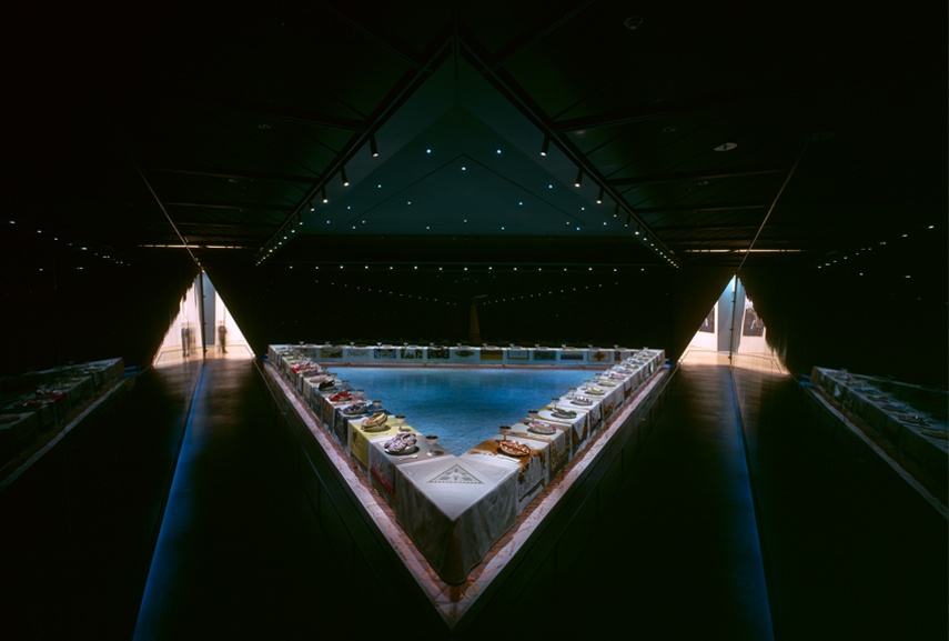 judy chicago the dinner party