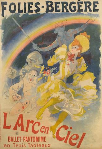 Jules Cheret-Folies-Bergere L'Arc-en-Ciel-1893