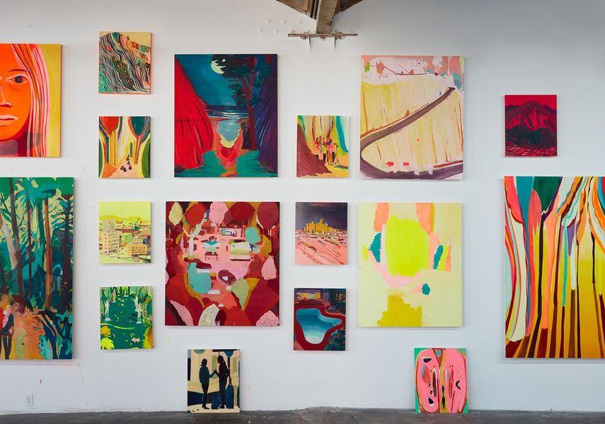 Jules de Balincourt exhibition
