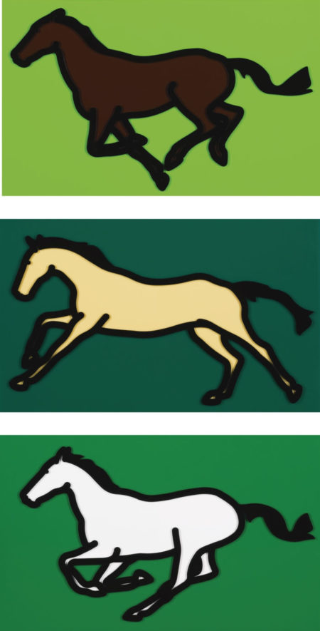 Julian Opie-Galloping Horse Series-2013