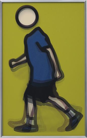 Julian Opie-Paul Running-2012