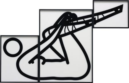 Julian Opie-This is Shahnoza in 3 parts (5)-2008