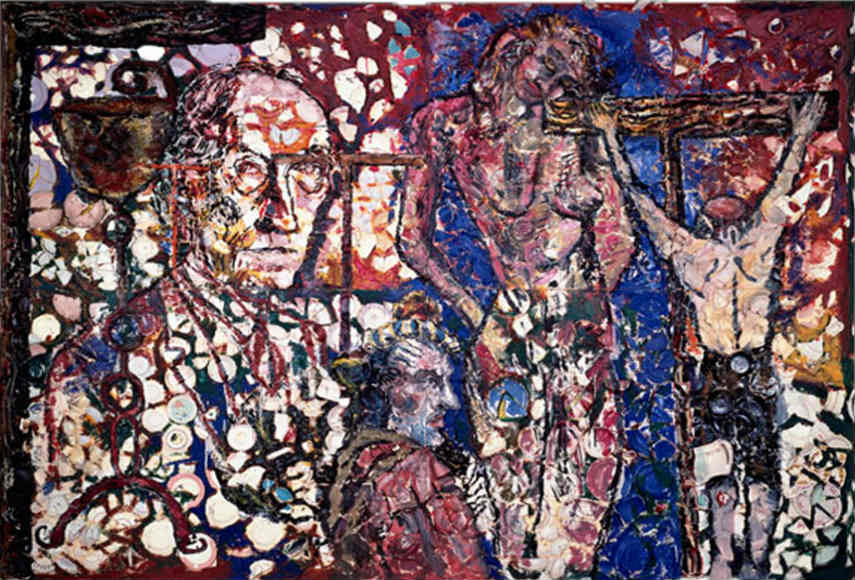 Julian Schnabel - Painting Without Mercy, 1980