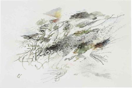 Julie Mehretu-Drawing for Andy #4-2007