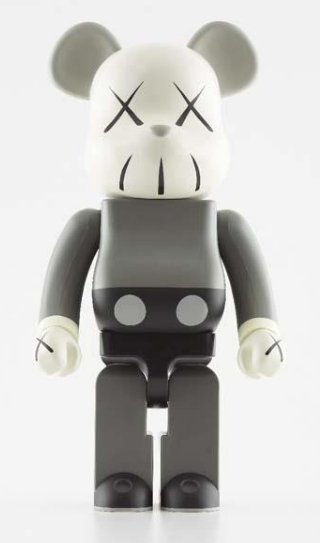KAWS-Be@rbrick 1000% (Grey)-2002