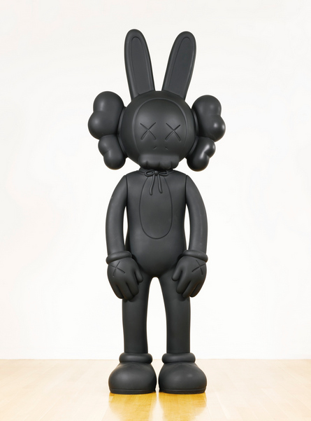 KAWS-Ten Feet Accomplice (Black)-2010