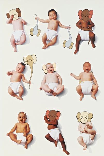 KAWS-Baby Poster-