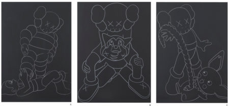 KAWS-Chum Vs Astroboy, Companion Vs Astroboy, Companion Vs Pikachu-2002
