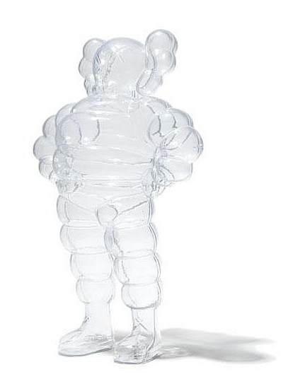 KAWS-Chum (Transparent)-