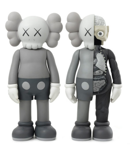KAWS-Four Feet Companion (Grey), Dissected Four Feet Companion (Grey)-2009