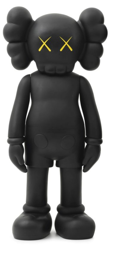 KAWS-Four Feet Companion (Black)-2007