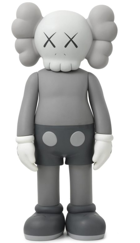 KAWS-Four Feet Companion (Grey)-2007