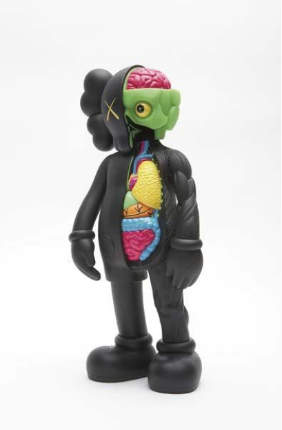 KAWS-Dissected Companion (Black)-2006