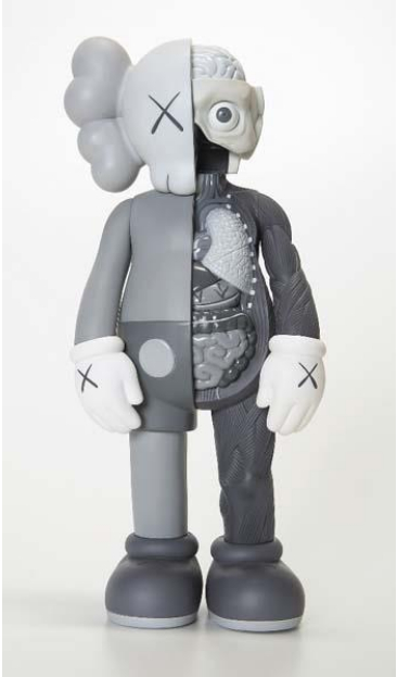 KAWS-Dissected Companion (Grey)-2006