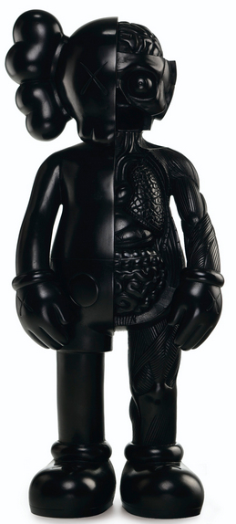 KAWS-Original Fake Companion (Bronze, Black)-2006