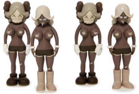 KAWS-The Twins (Brown)-2006