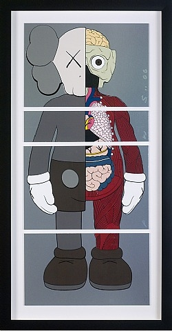 KAWS-Untitled (Dissected x Dissected Proof)-2006