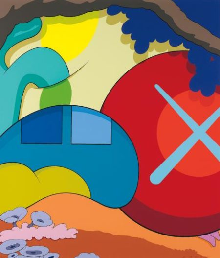 KAWS-You Should Know I Know-2015