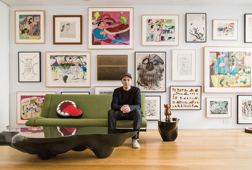 artists, art collectors, artist art collection