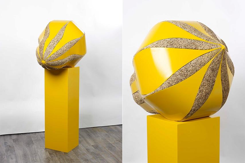Kalliopi Lemos - In Balance, Yellow, Courtesy of the artist and photographer Rowan Durrant