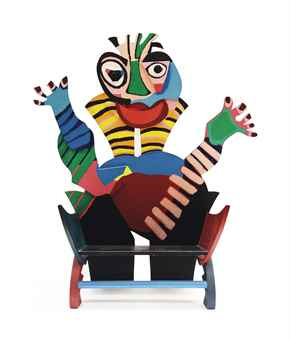 Karel Appel-Chair-1977