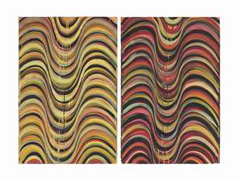 Karin Davie-In Out In Out Drawing #1 and #2-1993
