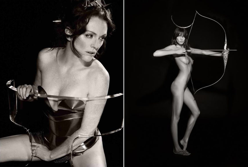 The pirelli calendars respect the model and her right to privacy
